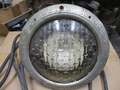 Swimming Pool In-Ground Lights w/Mounting Ring 6, vintage