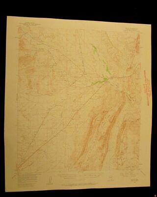 Moapa Nevada 1959 vintage USGS Topographical chart map