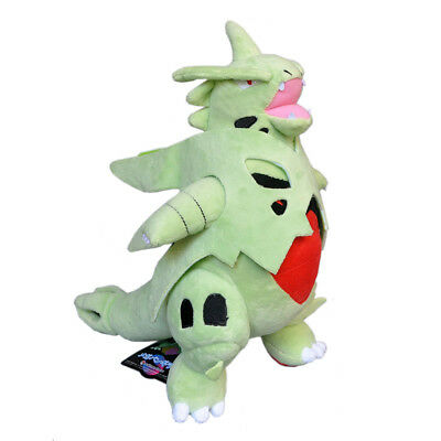 Mega Tyranitar Pokemon Center Plush Toy Evolution Toys Stuffed Animal Doll 13.5""