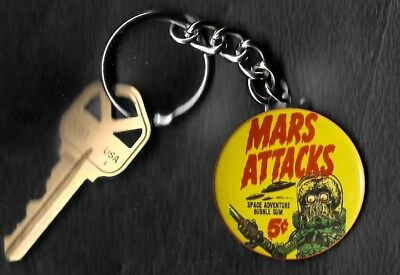 1962 Topps Mars Attacks Wrapper Keychain Key Chain