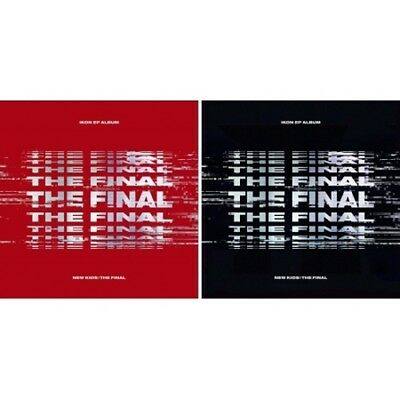 iKON[NewKids:The Final]EP Album Random CD+Poster/On+Book+Card+etc+Gift+Tracking