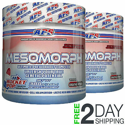APS NUTRITION MESOMORPH V3 Pre-Workout 25 Servings Mesomorph X 2 - Pick Flavors