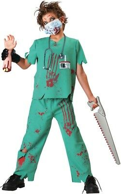 Doctor Sane Mad Surgeon Evil Halloween Boys Costume