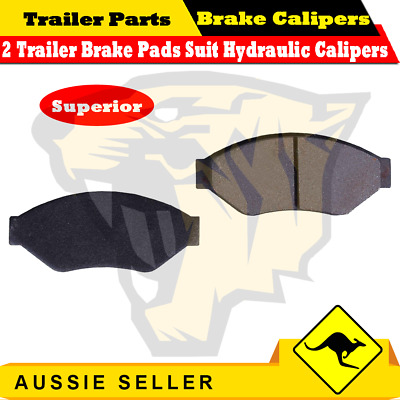 2 x Trailer Hydraulic Disc Brake Pads Suit ALKO Trojan Hydraulic Caliper