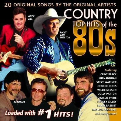 Various Artists - Country Top Hits of the 80's / Various [New CD]
