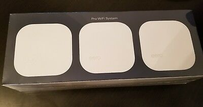 eero - Pro WiFi System (3 eeros), 2nd Generation - White - B010301