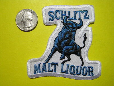 Beer Patch Schlitz Malt Liquor Beer Patch The Bull Small Crest Size Look And Buy