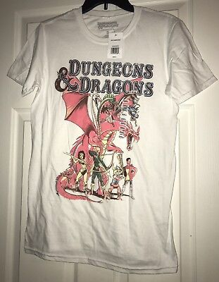 DUNGEONS & DRAGONS T-shirt Hank fantasy cartoon Eric Diana Bobby Sheila Venger