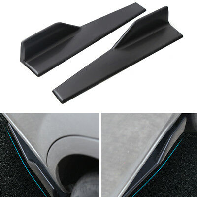 1 Paar Car Side Rock Winglet Flügel Canard Diffusor Schaufel Anti-Kratz