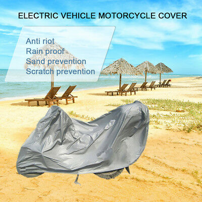 New Motorcycle Cover Waterproof Outdoor Rain Dust UV Motorbike Protector M -WB56