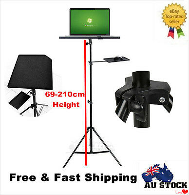 Adjustable Laptop Tripod Stand Notebook Computer Project Holder with Mouse Tray