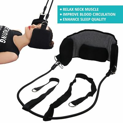 Neck Hammock Traction Massager Neck Tension Head Pain Nerves Relief Relaxation