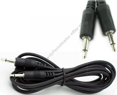 """100pk 6ft 1/8""""MONO Male-M,3.5mm Plug,Audio Lead/Patch/Cable/Cord/Wire 2conductor"""
