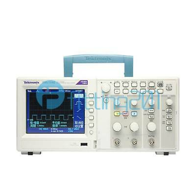 TBS1102 Tektronix Digital storage oscilloscope New 2 channel 100Mhz,Color Screen