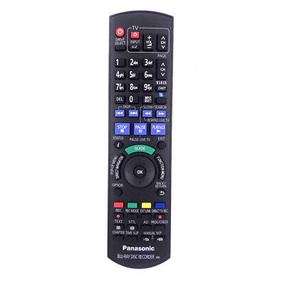 New Replace For Panasonic Blu-ray DISC RECORDER IR6 Remote Control N2QAYB000475
