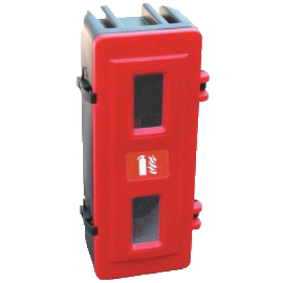 Fire Extinguisher Storage Box 6-9KG Jonesco 70 Series Red Wall or Vehicle Mount