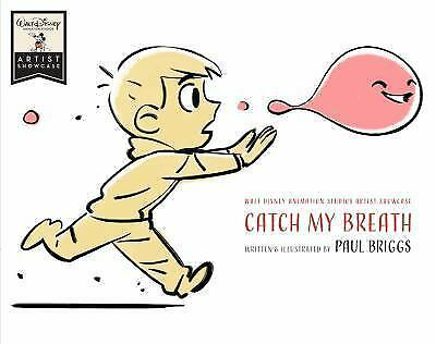 Catch My Breath by Paul Briggs Hardcover Book Free Shipping!