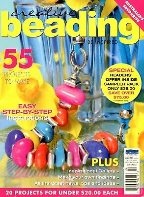 Creative Beading Book Vol 8 No. 2 – 55 Projects. See Pictures