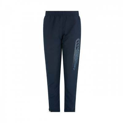 Canterbury tapered cuffed woven pant navy Kids age 10 years E713158