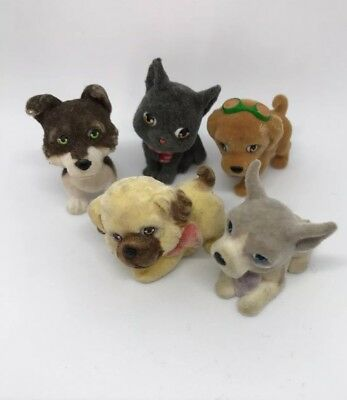 Puppy In My Pocket Vintage Collectable Dog Figures Bundle