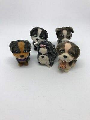 Puppy In My Pocket Vintage Collectable Figure Dog Bundle
