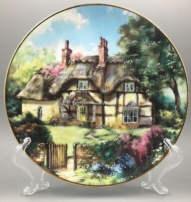 Ginger Cottage by Marty Bell English Country Cottages Hamilton Plate 1991