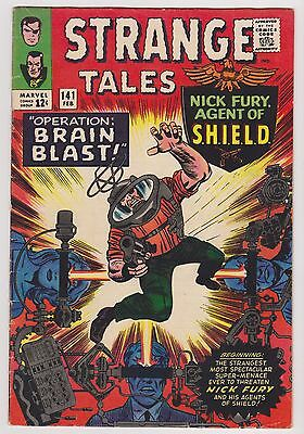 Strange Tales #141, Dr. Strange & Nick Fury, Agent of SHIELD - VF Condition