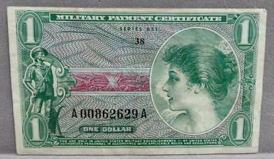 MPC Series 651 $1 Note