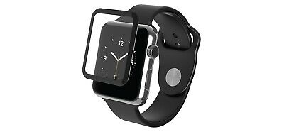 Zagg 200101354 Apple Watch Series 3 42mm Glass Screen Protection - Black