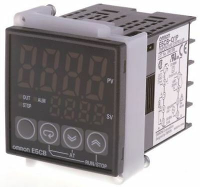 Omron E5CB PID Temperature Controller, 48 x 48mm, 1 Output: 1x Relay, 1x Logic,