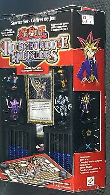 Yu-Gi-Oh! Dungeon Dice Monsters Starter Set-Collectible-Mattel#43575-COMPLETE