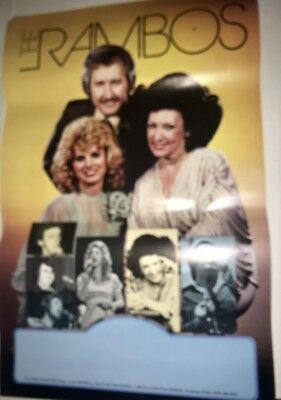 The Rambos RARE Concert Poster DOTTIE RAMBO Gary Chapman TNN Prime Time Country