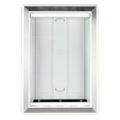 Extreme Weather Pet Door New Dog Doors Exterior Entry Large Dogs Heavy Duty Safe