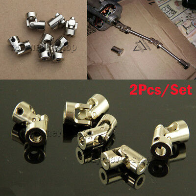 2Pcs 3/4/5/6/8mm Boat Car Shaft Coupler Motor connector Universal Joint Coupling