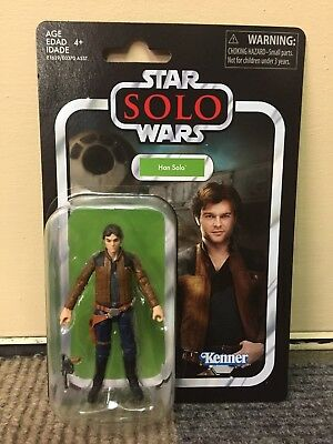 "MOC 3.75"" STAR WARS The Vintage Collection HAN SOLO VC124 Action Figure! WOW!"