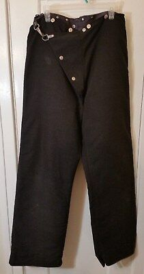 Globe Nomex 7.5 oz Firefighter Rescue/Turnout Pants w/Liner 34X32 100% donation