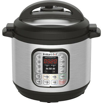 Instant Pot IP-DUO80 8 Qt 7-in-1 Multi- Use Programmable Pressure Cooker, Rice
