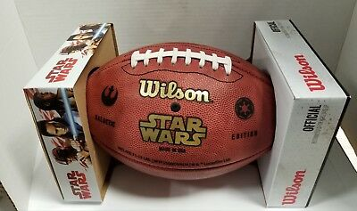 Sdcc 2018 Exclusive Wilson Star Wars Darth Vader Football Limited Ed Of 50 Made!