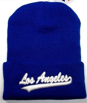 55050470 LOS ANGELES DODGERS *Team Colors* on 3D Direct Embroidered Hat Cap ...