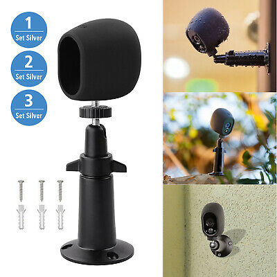 Outdoor Security Wall Mount+Silicone Skins Protective Cover Case for Arlo Camera