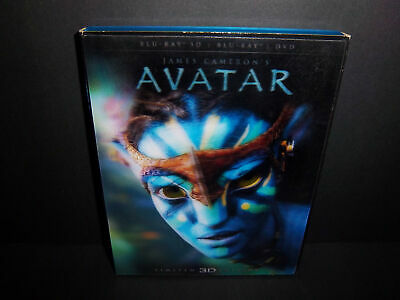 James Cameron's Avatar - Limited Edition 3D Blu-ray + DVD with Lenticular cover