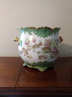 Antique Vintage Warwick Cachepot Ceramic Planter