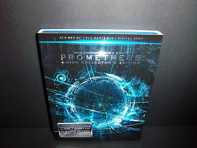 Prometheus (4-Disc Collector's Edition 3D Blu-ray + DVD) Noomi Rapace