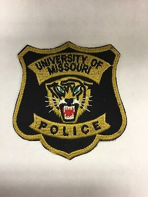 """Used""  University of Missouri Police Patch"