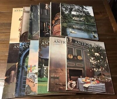 The Magazine ANTIQUES Lot of 12 Vols. 1984 January-December