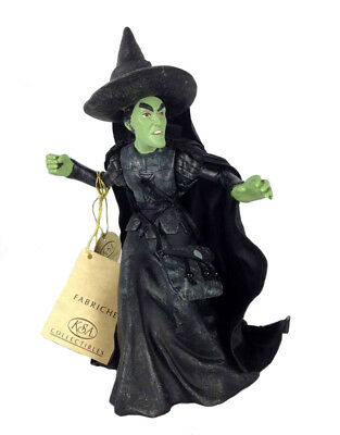 Retired Kurt Adler Fabriche Evil Witch From Wizard Of Oz, Free S/h Nib