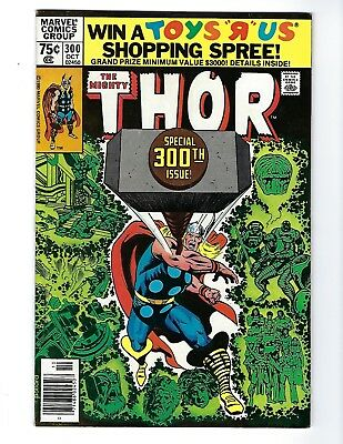 THOR 300 (SPECIAL 300th ISSUE! OCT 1980), VF+