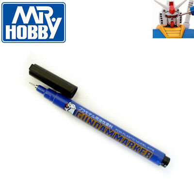 Bandai Mr Hobby Gundam Model Marker Black Pen GM01 NEW