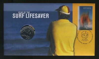 2007 Year of the Lifesaver 20 Cent PNC - Free Postage in Australia!