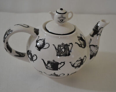 Paul Cardew Two Cups Teapot -Antique Pewter